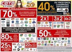 Ofertas de Hiper-Supermercados en el catálogo de Coto en Zárate ( Caduca hoy )
