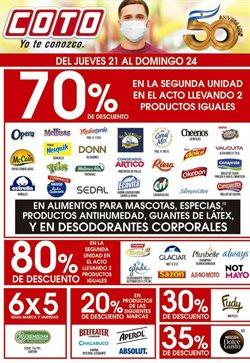 Ofertas de Hiper-Supermercados en el catálogo de Coto en Martínez ( Caduca hoy )