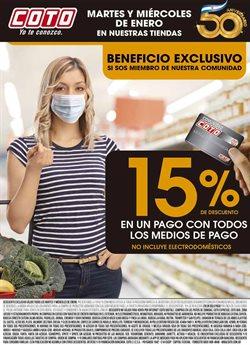 Ofertas de Hiper-Supermercados en el catálogo de Coto en Florencio Varela ( Caduca hoy )