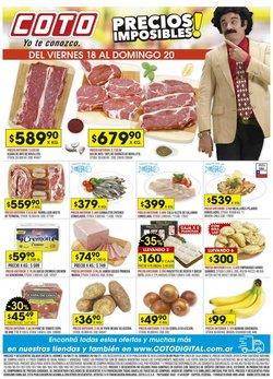Ofertas de Hiper-Supermercados en el catálogo de Coto ( Vence mañana)