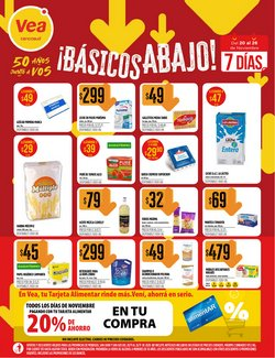 Ofertas de Hiper-Supermercados en el catálogo de Supermercados Vea en Mendoza ( 2 días más )