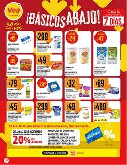 Catálogo Supermercados Vea en Salta ( Caduca mañana )