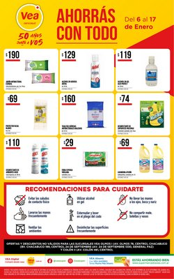 Catálogo Supermercados Vea en Córdoba ( Caduca hoy )
