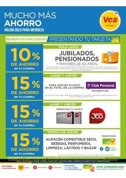 Ofertas de Hiper-Supermercados en el catálogo de Supermercados Vea en San Rafael (Mendoza) ( 8 días más )