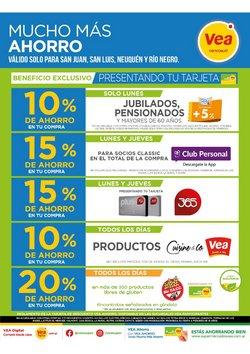 Catálogo Supermercados Vea en San Luis ( 6 días más )