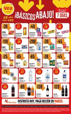 Catálogo Supermercados Vea en Córdoba ( 2 días publicado )