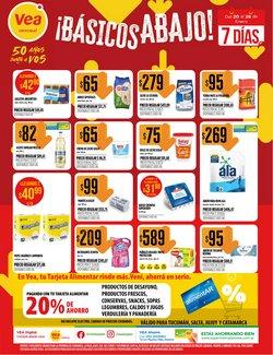 Ofertas de Hiper-Supermercados en el catálogo de Supermercados Vea en San Fernando del Valle de Catamarca ( Caduca mañana )