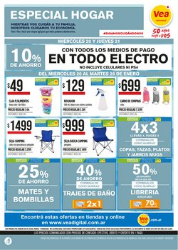Ofertas de Hiper-Supermercados en el catálogo de Supermercados Vea en San Juan (San Juan) ( Publicado hoy )