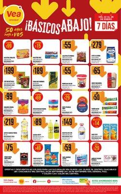 Ofertas de Arcor en Supermercados Vea