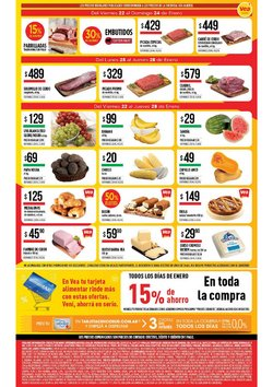 Catálogo Supermercados Vea en Libertador General San Martín (Jujuy) ( Caducado )