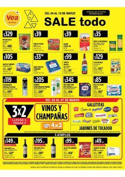 Ofertas de Hiper-Supermercados en el catálogo de Supermercados Vea en Recoleta ( 2 días más )