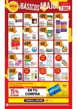 Ofertas de Hiper-Supermercados en el catálogo de Supermercados Vea ( Vence hoy)