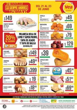 Catálogo Supermercados Vea ( Vence mañana)
