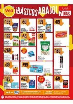 Catálogo Supermercados Vea ( Vence hoy)
