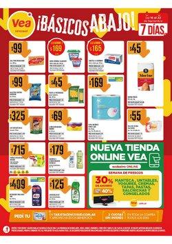 Ofertas de Hiper-Supermercados en el catálogo de Supermercados Vea ( Publicado hoy)