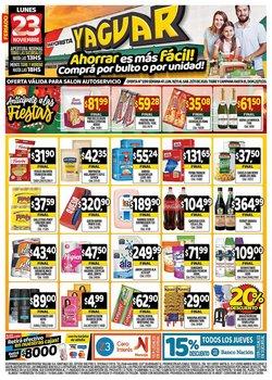 Catálogo Supermercados Yaguar en Microcentro ( Caducado )