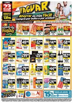 Catálogo Supermercados Yaguar en Corrientes ( 2 días más )