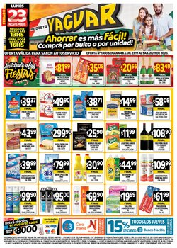 Ofertas de Desodorante en Supermercados Yaguar