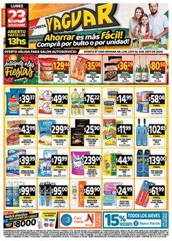 Ofertas de Hiper-Supermercados en el catálogo de Supermercados Yaguar en Mendoza ( Publicado ayer )