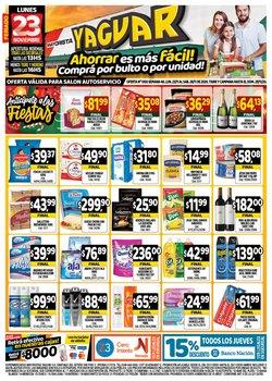 Catálogo Supermercados Yaguar en Lomas de Zamora ( 3 días más )