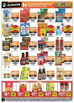 Ofertas de Pizza en Supermercados Yaguar