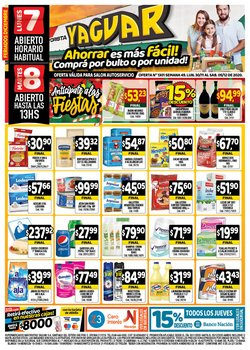 Catálogo Supermercados Yaguar en Bahía Blanca ( 3 días más )