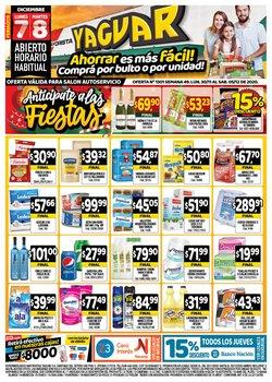 Ofertas de Hiper-Supermercados en el catálogo de Supermercados Yaguar en Cipolletti ( Publicado hoy )