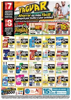 Ofertas de Gaseosas en Supermercados Yaguar