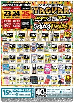 Catálogo Supermercados Yaguar en Mendoza ( Caducado )