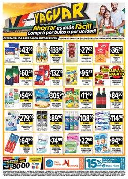 Ofertas de Leche en Supermercados Yaguar