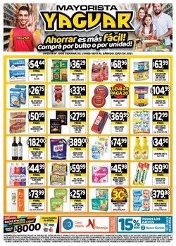 Catálogo Supermercados Yaguar ( 3 días más )