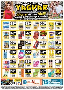 Ofertas de Galletas en Supermercados Yaguar