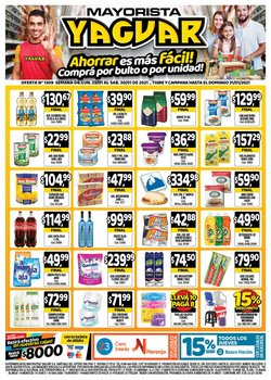 Ofertas de Hiper-Supermercados en el catálogo de Supermercados Yaguar en Campana ( Publicado ayer )