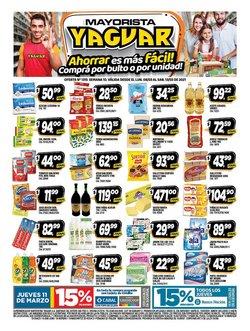 Catálogo Supermercados Yaguar ( Publicado hoy )
