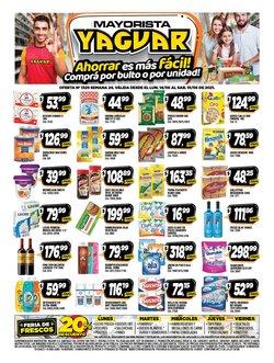 Ofertas de Hiper-Supermercados en el catálogo de Supermercados Yaguar ( Vence mañana)