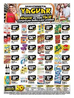 Ofertas de Hiper-Supermercados en el catálogo de Supermercados Yaguar ( Vence hoy)