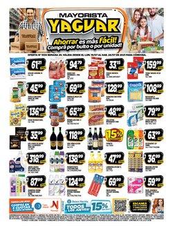 Catálogo Supermercados Yaguar ( Vence mañana)