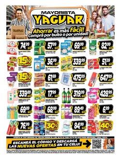 Catálogo Supermercados Yaguar ( Vence hoy)