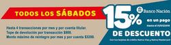 Ofertas de Supermercados Yaguar  en el folleto de Mendoza