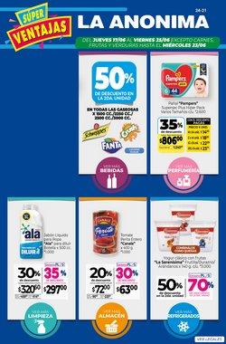 Ofertas de Hiper-Supermercados en el catálogo de La Anonima ( 3 días más)