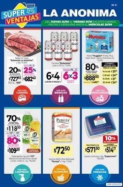 Ofertas de Hiper-Supermercados en el catálogo de La Anonima ( Vence mañana)