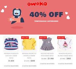 Ofertas de Owoko en el catálogo de Owoko ( Vencido)