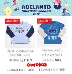 Ofertas de Owoko en el catálogo de Owoko ( 19 días más)
