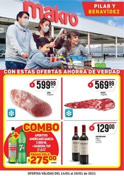 Ofertas de Hiper-Supermercados en el catálogo de Makro en San Martín ( 2 días publicado )