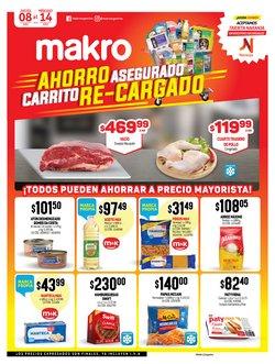 Ofertas de Hiper-Supermercados en el catálogo de Makro en Santa Fe ( Caduca mañana )