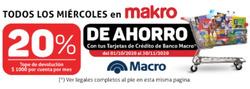 Cupón Makro en Corrientes ( Caduca hoy )
