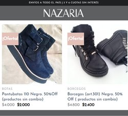Ofertas de Nazaria en el catálogo de Nazaria ( Vencido)