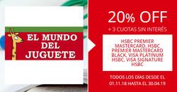 Ofertas de El Mundo del Juguete  en el folleto de Martínez