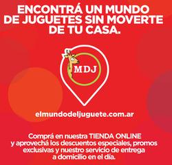 Cupón El Mundo del Juguete en Rosario ( Caduca hoy )