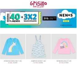 Ofertas de Juguetes, Niños y Bebés en el catálogo de Grisino ( Vence hoy)
